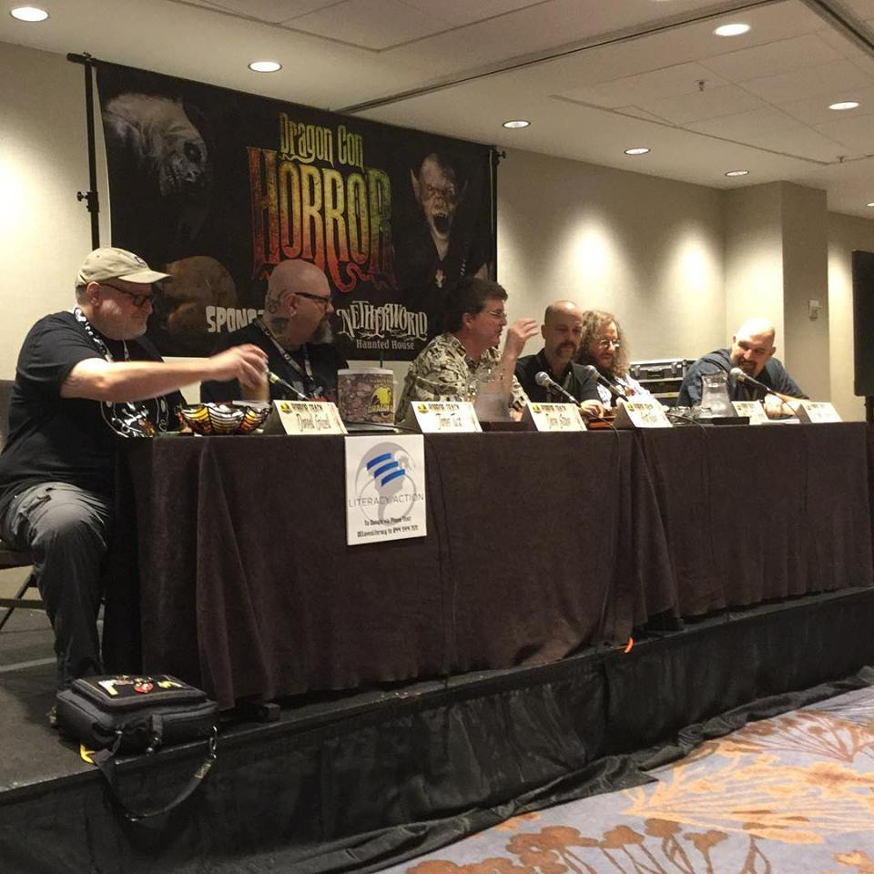 DragonCon 2018 V-Wars Panel