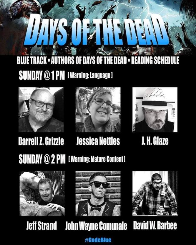 2019 days of the dead readings poster