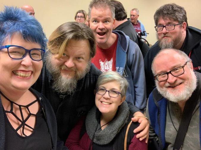 Friends at Con-Tagion 2019